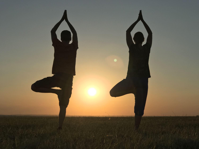 Stage d'été de yoga et méditation