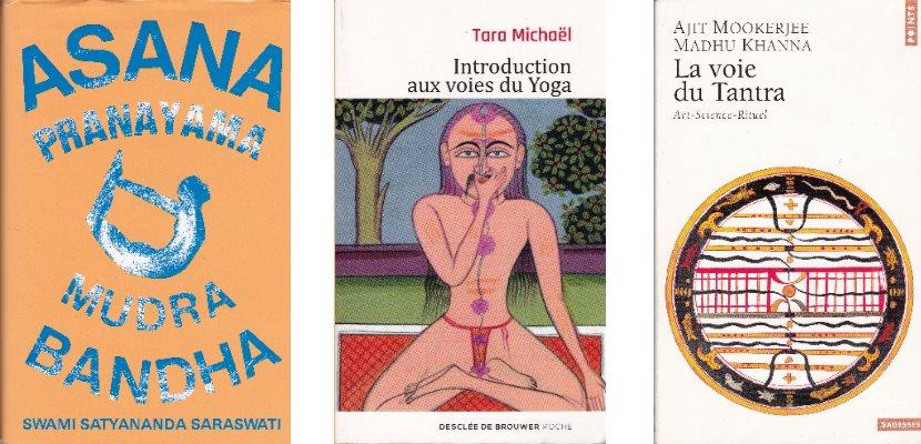 Conseils de lecture sur le yoga et la méditation