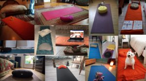 Yoga en confinement, mai-juin 2020